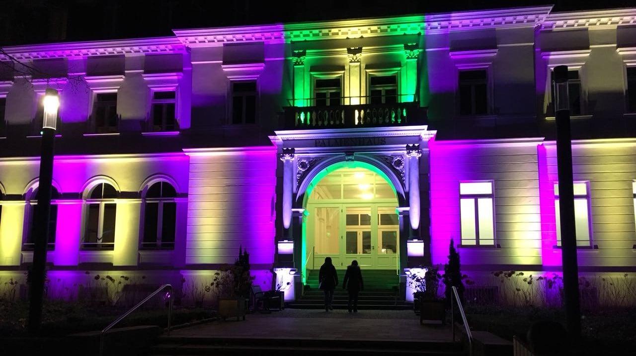Lichterfest Frankfurt im Palmengarten