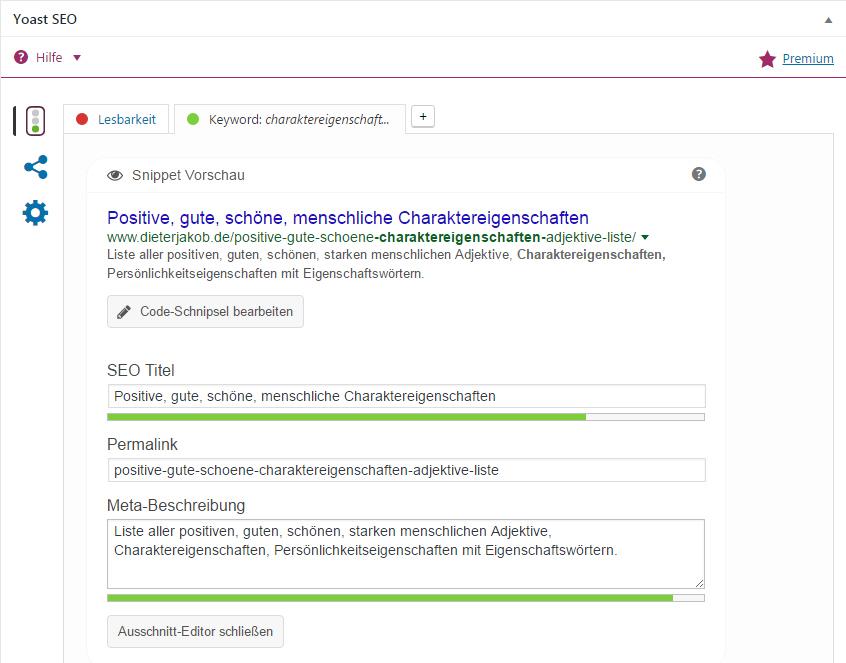 Seo Suchmaschinenoptimierung Suchergebnis gestalten