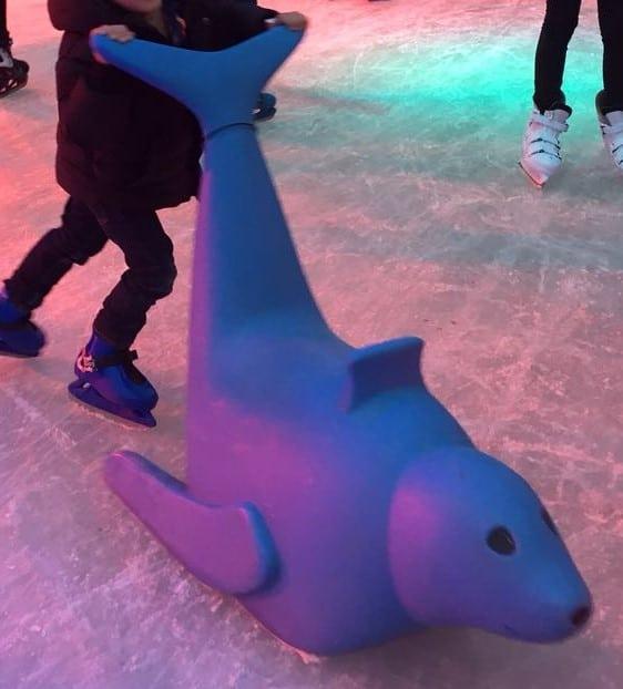 Eislaufhilfe Bad Homburg bei Frankfurt