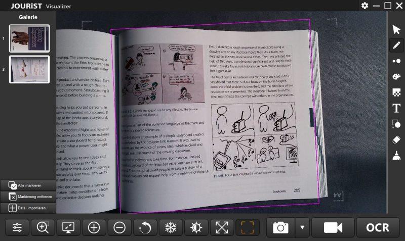 Jourist DC80 Visualizer Software